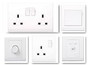 Switches, Plugs, Sockets and Fuses