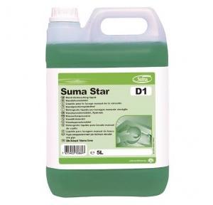Diversey Suma Star D1 Hand Dishwashing Liquid, 5 Ltr