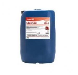Diversey Clax Cid (Earlier Clax Neutral) Laundry Care, 25 Ltr