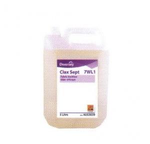 Diversey Clax Sept Fabric Sanitiser, 5 Ltr