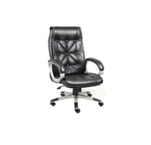 114 Black Leatherette Chair