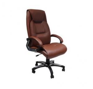 109 Brown Leatherette Chair