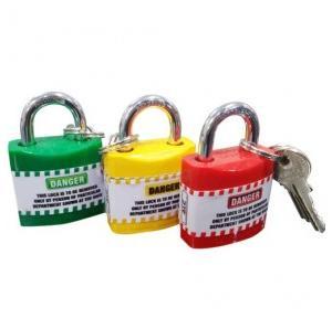Asian Loto Regular Shackle Lockout Padlock With 3 Key, ALC-LPR