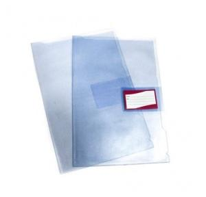 Both Side Transparent Moraco Folder, Size: A/4