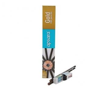Apsara Gold Pencil, Pack of 10