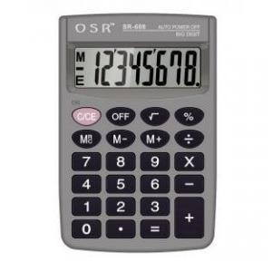 OSR 8 Digit Calculator SR-608