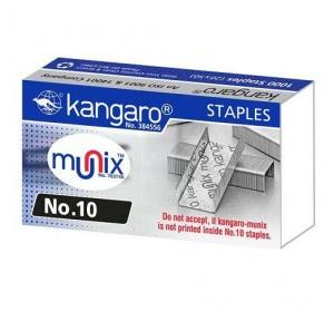Kangaro Stapler Pins No.10 (1000 Staples), Pack Of 20 Box