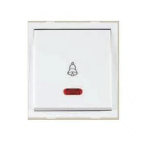 Anchor Roma Classic 10A Dura Bell Push Switch with Neon, 30715