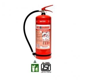 Resguardo Water Type Fire Extinguisher, 9 Ltr