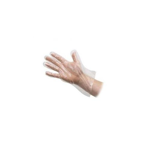 Disposable Gloves Transparent (Pack of 50 Pair)