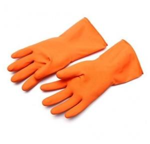 Orange Hand Gloves, 8 Inch