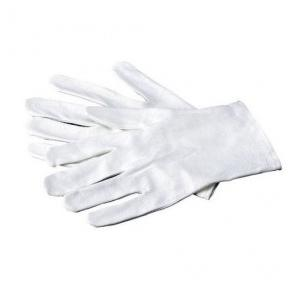 Cloth White Hand Gloves, 7 Inch