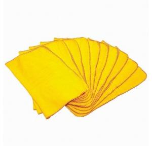 Yellow duster, 23x23 Inch (Pack of 12)