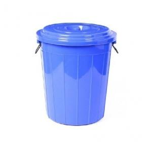 Plastic Drum Dustbin, 100 Ltr