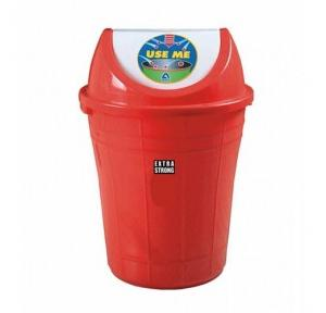 Plastic Swing Dustbin, 40 Ltr