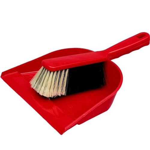 Plastic Dustpan With Brush