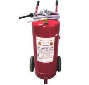 Armour Mechancial Foam Trolley mounted Fire Extinguisher, 50 Ltr