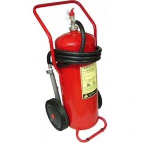 Armour Water CO2 Trolley Mounted Fire Extinguisher, 50 Ltr