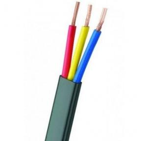 Kalinga 4 Sq mm 3 Core Flat Submersible Wire,  (100 Mtr)