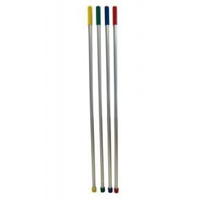 Taski Aluminium Handle With Red Grip