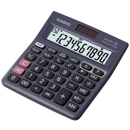 Casio Calculator MJ-100D