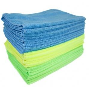 Diversey Microquick Green - 40x40 Cm Microfibre Wipes (Pack Of 5), 5627697