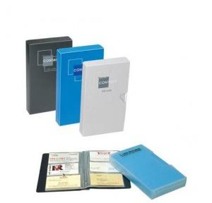 Worldone Business Card Holder With Case 480 cards, BC105