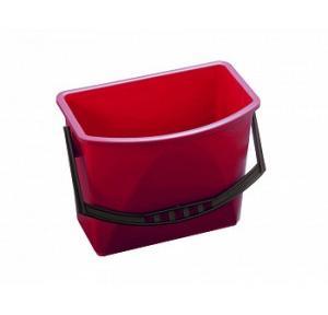 Diversey 1 X Taski Bucket 15L Red