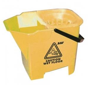 Diversey Taski Double Bucket With Sieve (Yellow)