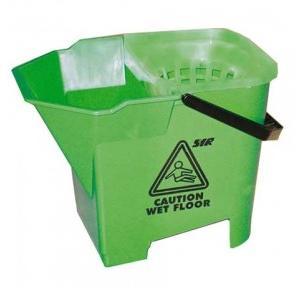 Diversey Taski Double Bucket With Sieve (Green)
