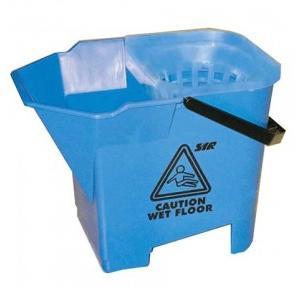 Diversey Taski Double Bucket With Sieve (Blue)