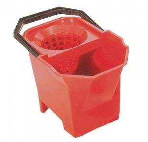 Diversey Taski Double Bucket With Sieve (Red)