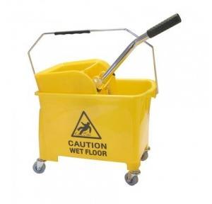 Diversey Taski Yellow Bucket Wringer, 12+18 Ltr