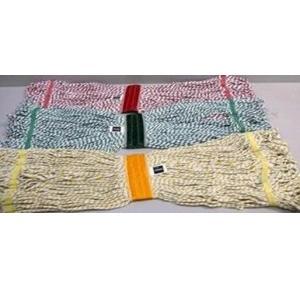 Diversey Taski Fringe Mop 450gm Loop Ends (Yellow)