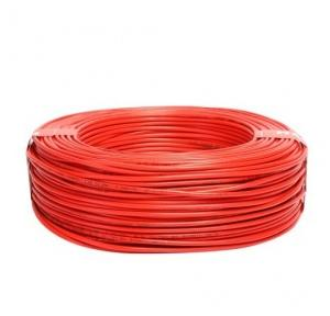 Havells 1 Sq mm Single Core Life Line S3 FR PVC Insulated Industrial Cable, Red (90 Mtr)