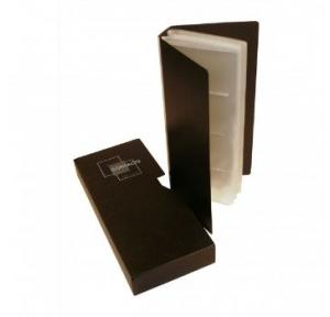Gel Business Card Holder With Case, 480 Cards
