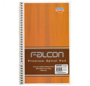 Falcon Premium Spiral Pad 601, Size: 218x134 mm