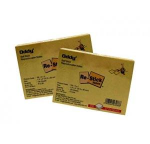 Oddy Self sticky Notes 1.5x2 Inch, 100 Sheets