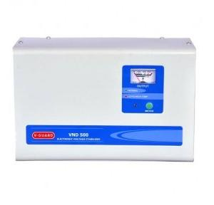 V-Guard Grey Electronic Voltage Stabilizer VND 500, 150 - 285 V