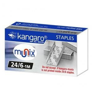 Kangaro Stapler Pins No. 24/6 (1000 staples)