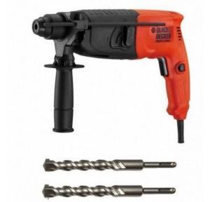 Black & Decker BPHR202K Rotary Hammer, 620W, 800 rpm