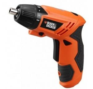 Black & Decker KC4815 Cordless Screwdriver, 4.8 V, 200 rpm