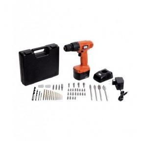 Black & Decker CD121K50 Cordless Tool Kit, 550 rpm, 50 Pcs
