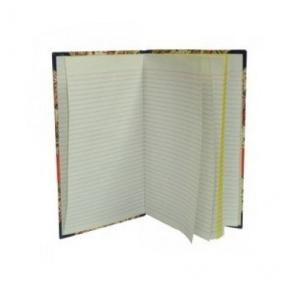 Saraswati Yellow Binding Ruled Consumable Register (144 Pages)