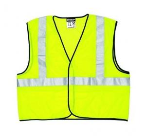 Fluorescent Jacket with 2 Inch Reflect Strips, Lime