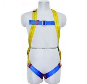Karam KI01(PN206D) Full Body Harness Class A, 2 Mtr PP Double Lanyard
