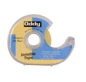 Oddy Invisible Tape With Metal Teeth Dispenser, ITD-1833