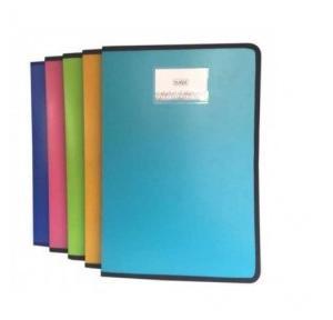 Saya Zipper Display Book Vibrant 20 Pockets - A4 SY-1320A4