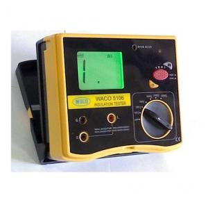 Waco Megger, 5000 Volts With Non-NABL Calibration Certificate
