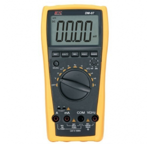 HTC DM-97 Multimeter (V/A/KW/PF) With Non-NABL Calibration Certificate
